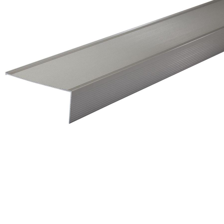 md 15in x 36in satin nickel aluminum door threshold