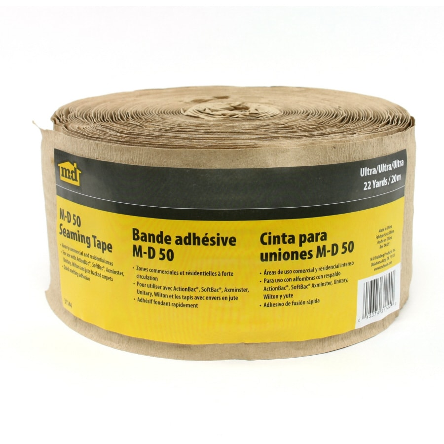 M-D 3.5-in x 66-ft Brown Hot Melt Seam Tape