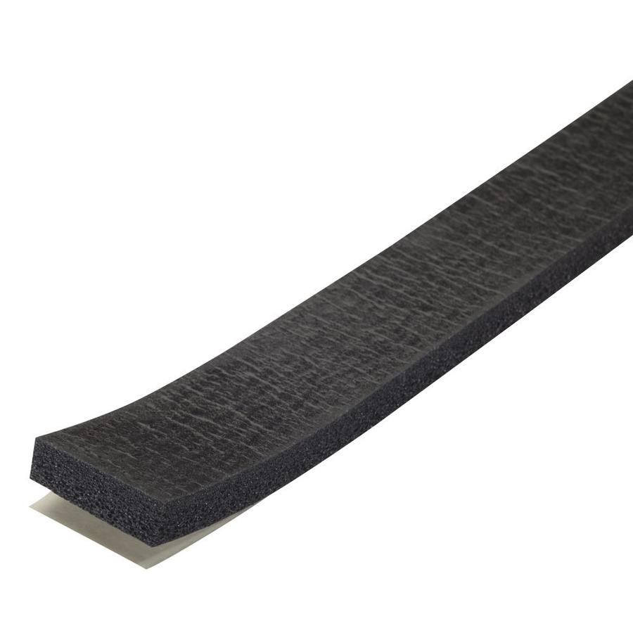 M-D 10-ft Black Rubber Window Weatherstrip