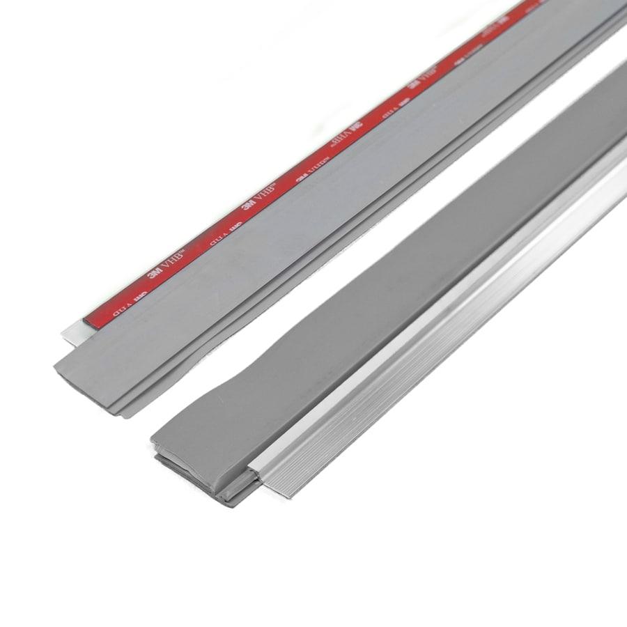 M-D Building Products 0.25-in x 3-ft Silver Aluminum Door Weatherstrip