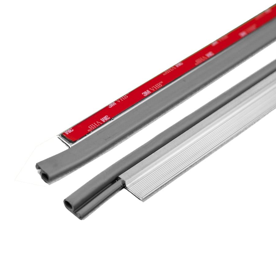 M-D Building Products .25-in x 3.5-ft Silver Aluminum Door Weatherstrip