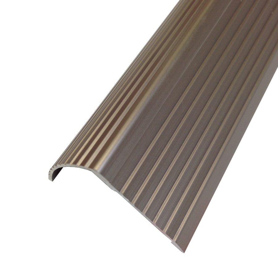 Superieur M D 1.22 In X 36 In Satin Nickel Stair Edging