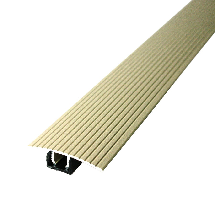 M-D Building Products 36-in Beige Cinch T-Molding with Snaptrack