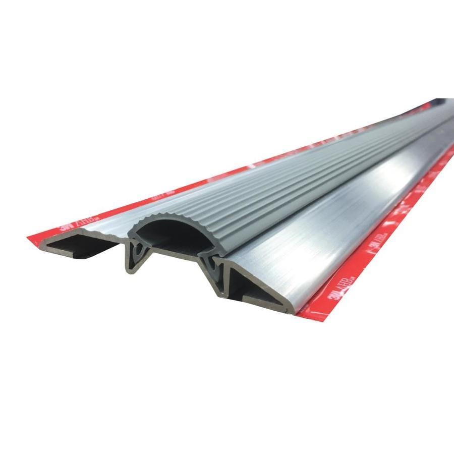 M-D x 3-ft Silver Aluminum/Vinyl Door Weatherstrip