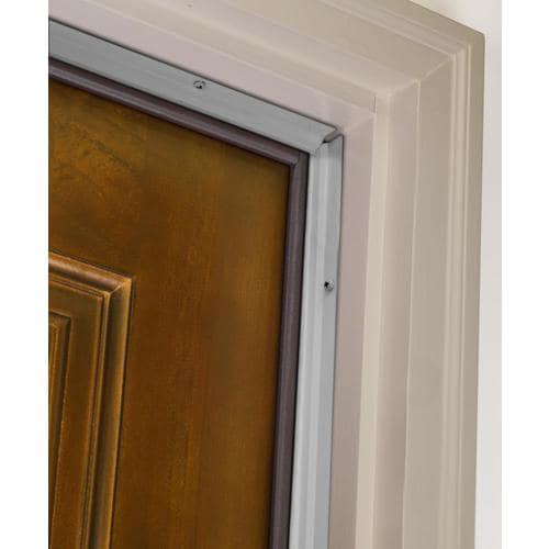 M D 7 Ft X 3 16 In Silver Aluminum Vinyl Door Weatherstrip The