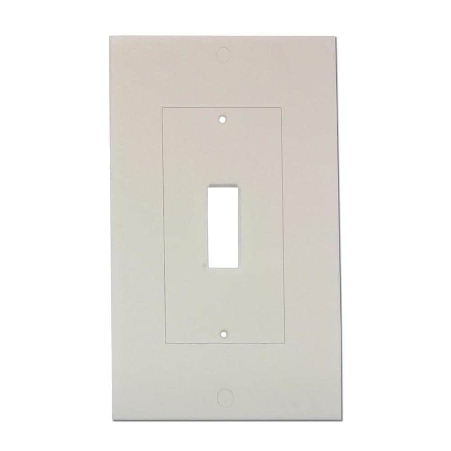 M-D Building Products 400-Pack 0.416-ft White Light Switch Seal Foam Switch/Outlet Weatherstrip