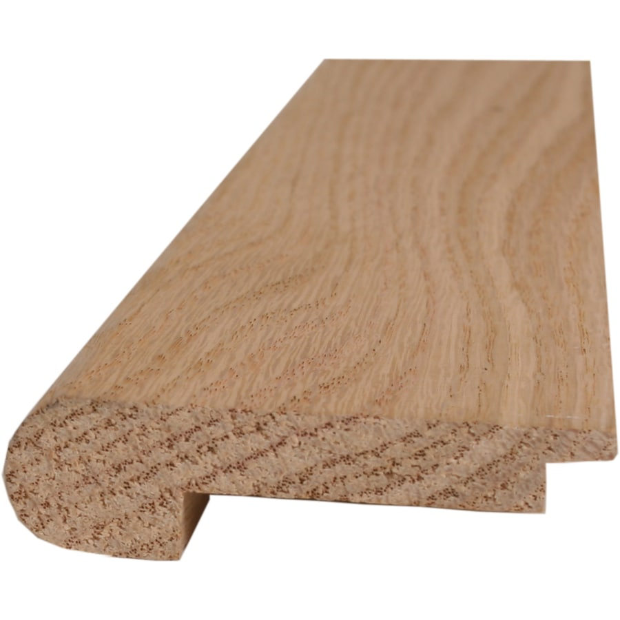 Style Selections 2.75 In X 78 In Oak Stair Nose Floor Moulding