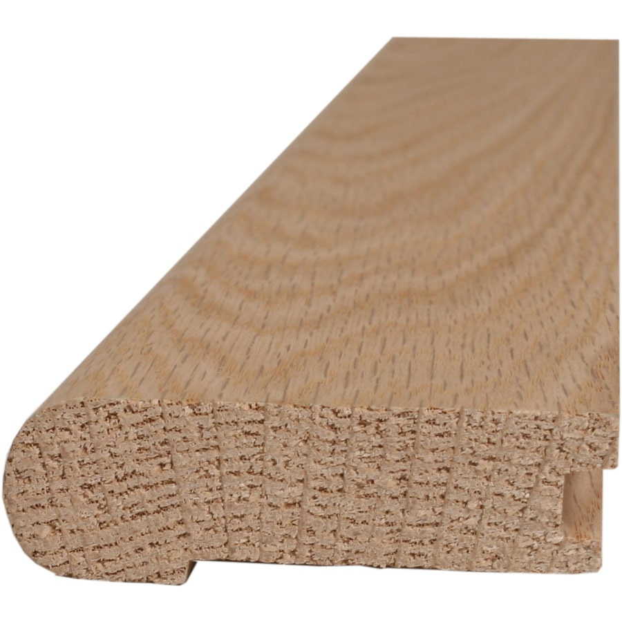 Style Selections 2.75-in x 78-in Oak Stair Nose Floor Moulding