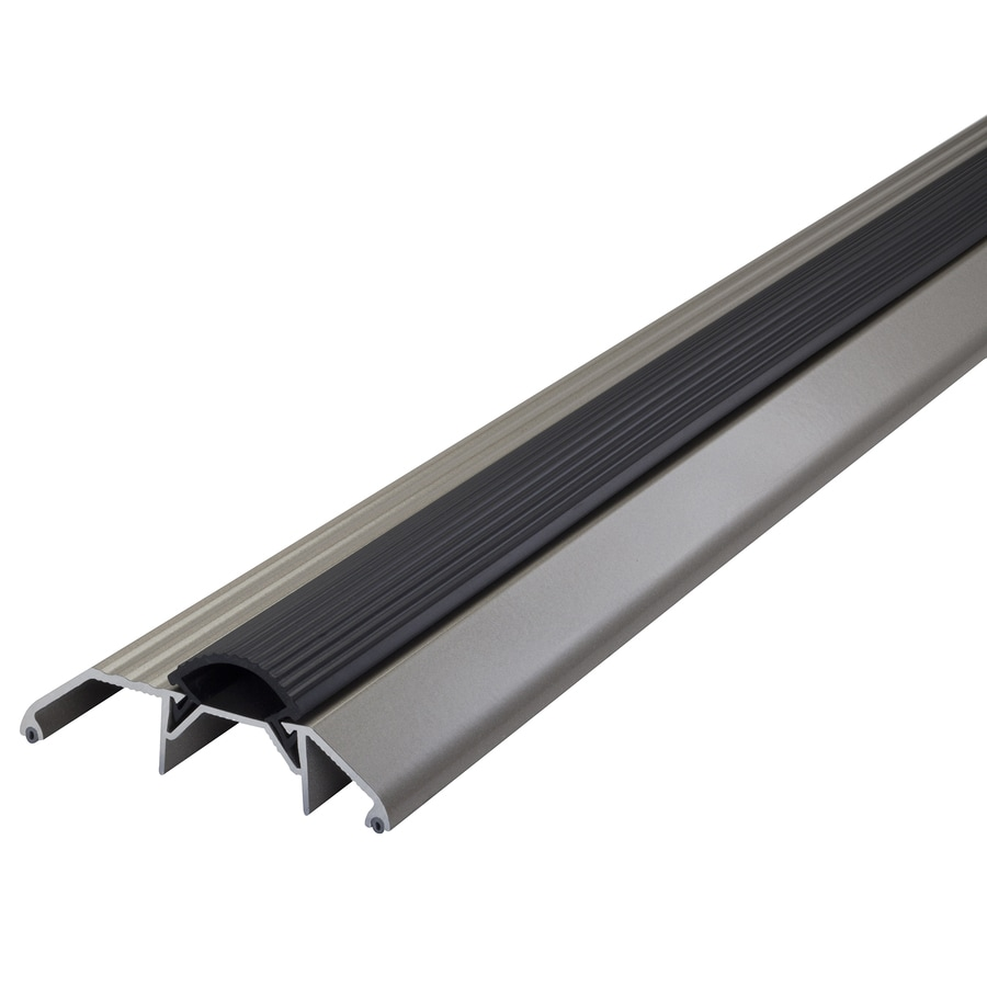 M-D 1.125-in x 36-in Satin Nickel Aluminum Door Threshold