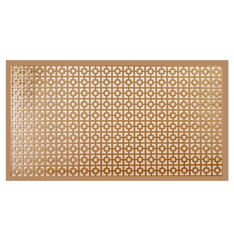M-D 24-in x 12-in Copper Sheet Metal Siding Trim