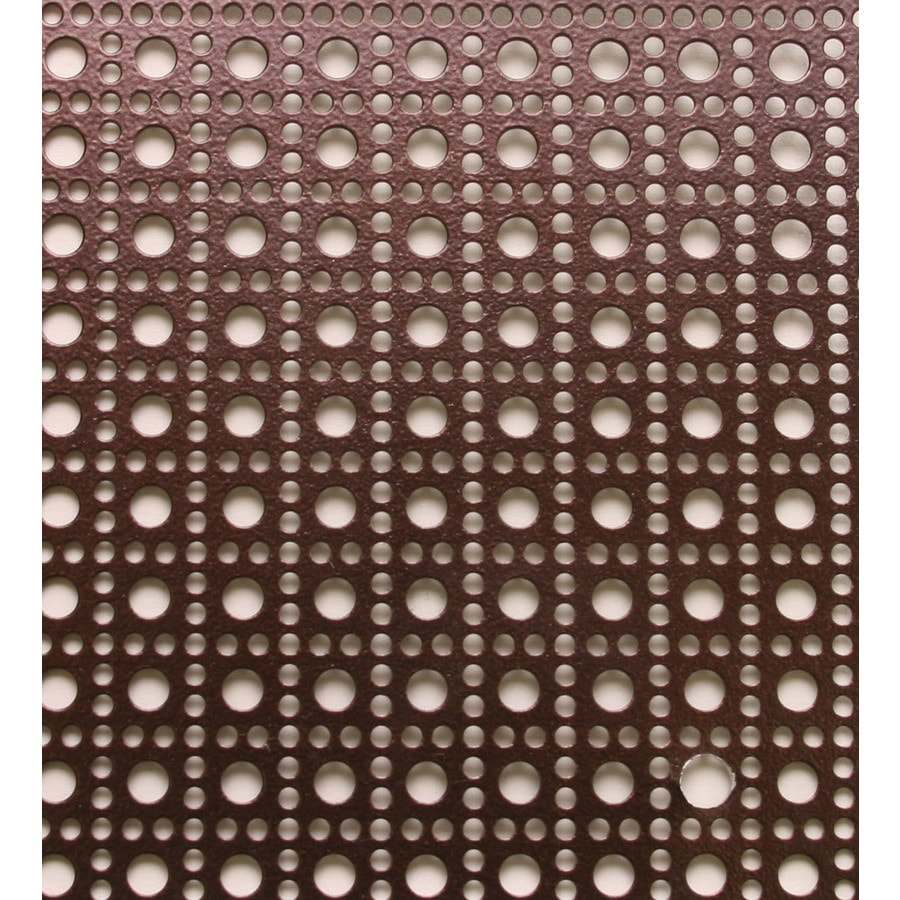 M-D 24-in x 36-in Venetian Bronze Sheet Metal Siding Trim