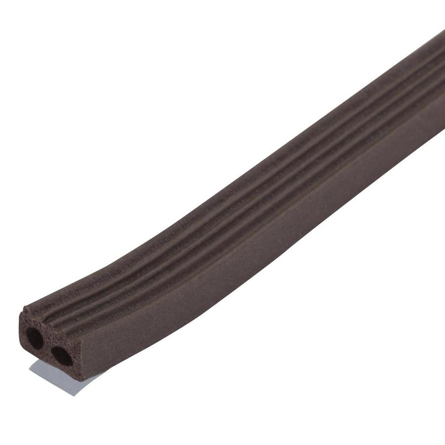 M-D 10-ft Brown Window Seal Rubber Window Weatherstrip