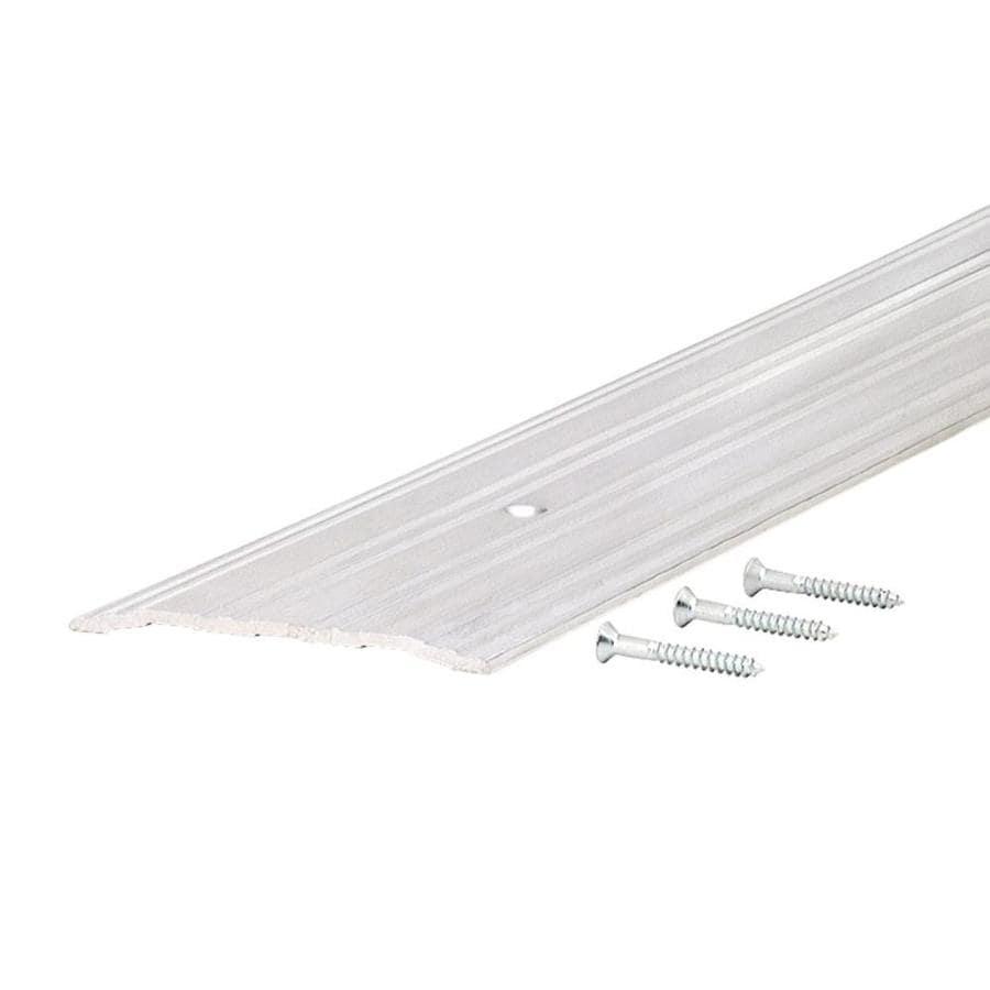 M-D 1/4-in x 4-in x 36-in Aluminum Aluminum Door Threshold