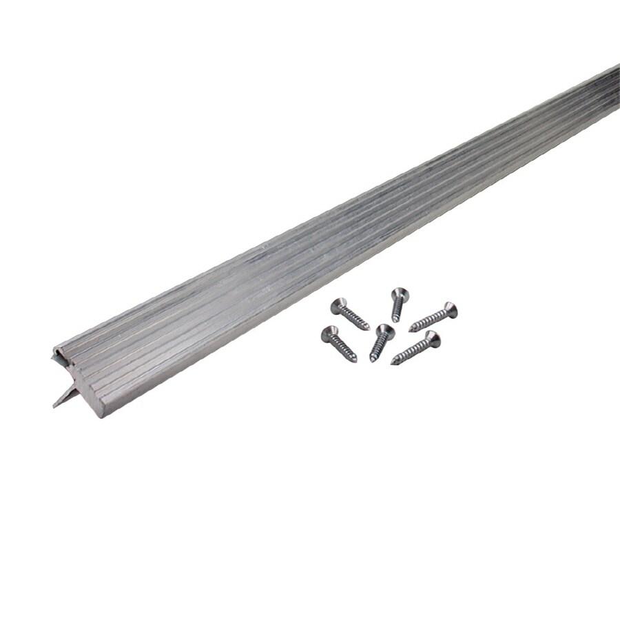 M-D Building Products 1.313-in x 7-ft Aluminum and Vinyl Door Weatherstrip