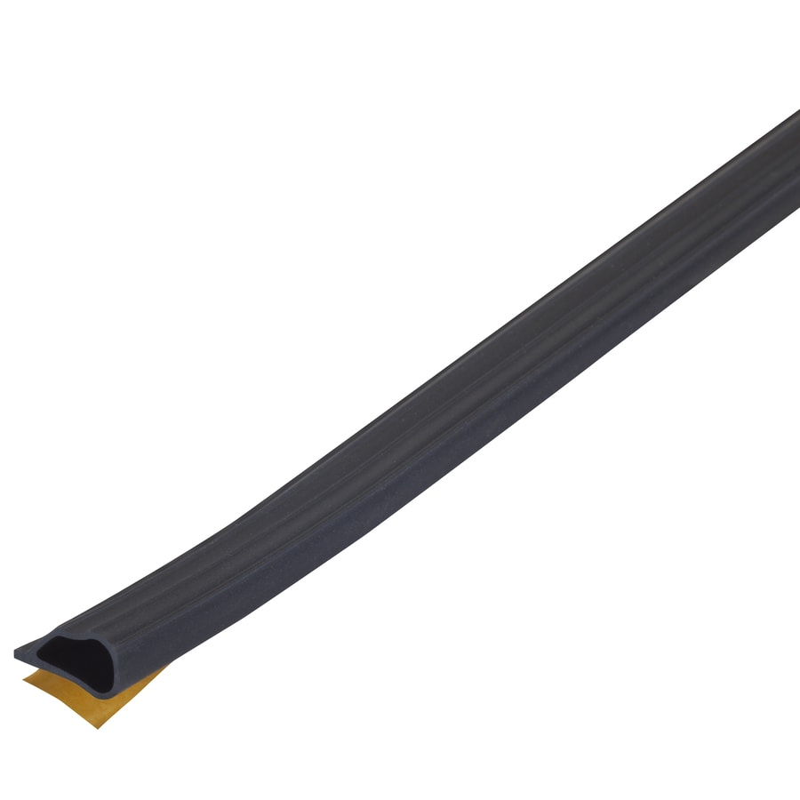M-D 20-ft Black Door Seal Silicone Door Weatherstrip