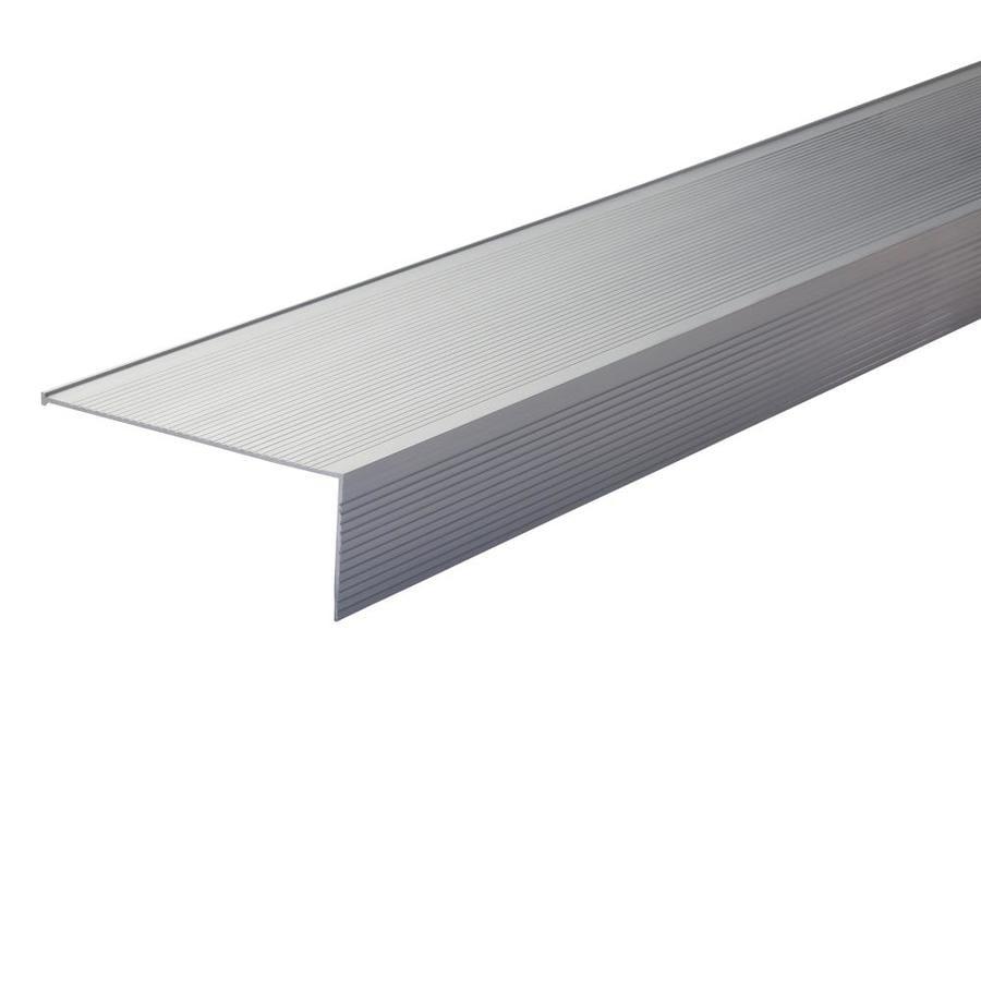 M-D 3-ft Silver Aluminum Vinyl Door Weatherstrip