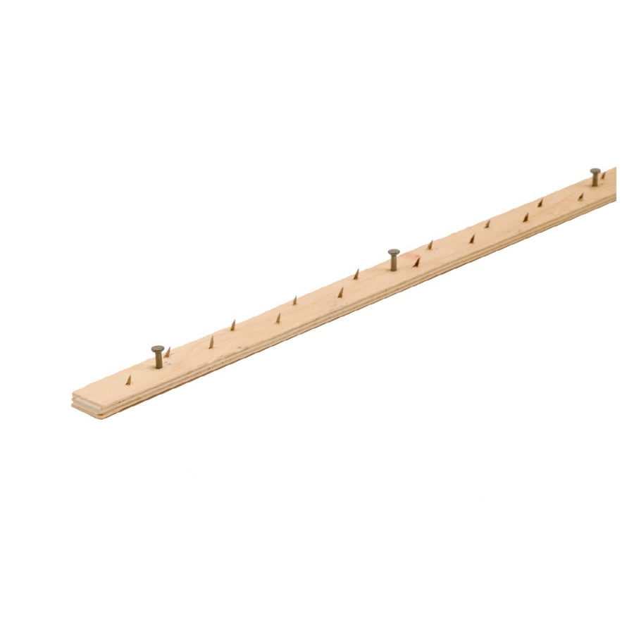M-D Building Products 3/4-in W x 48-in L Carpet Tack Strip