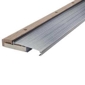 125 in x 36 in aluminum aluminum wood door threshold