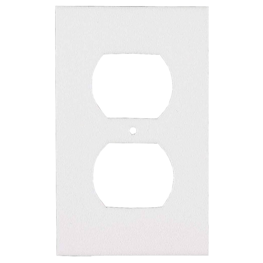 M-D 0.416-ft White Outlet Seal Foam Switch/Outlet Weatherstrip