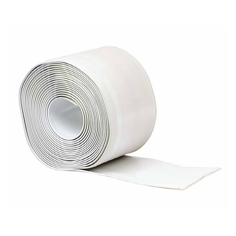 M-D 4-in W x 20-ft L White Wall Base