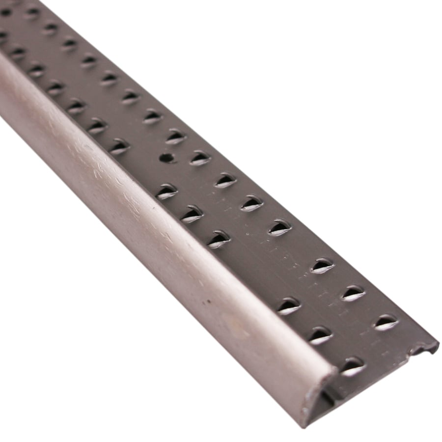 M-D Building Products 96-in Pewter Econ Hammered Carpet Gripper