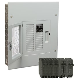 Ge Powermark Gold 125 Amp 12 Spaces 24 Circuit Main Lug Load Center Value Pack In The Breaker Boxes Department At Lowes Com