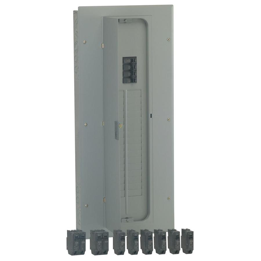 GE 32-Circuit 32-Space 150-Amp Main Breaker Load Center (Value Pack)