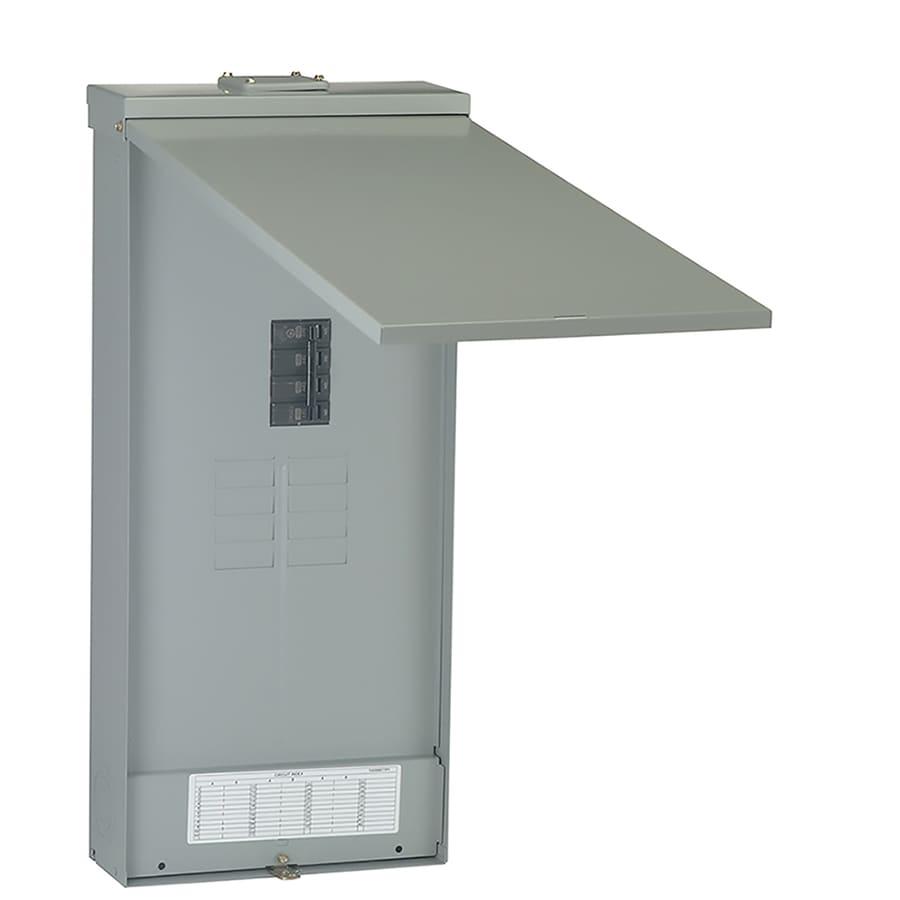 GE 16-Circuit 8-Space 200-Amp Main Breaker Load Center