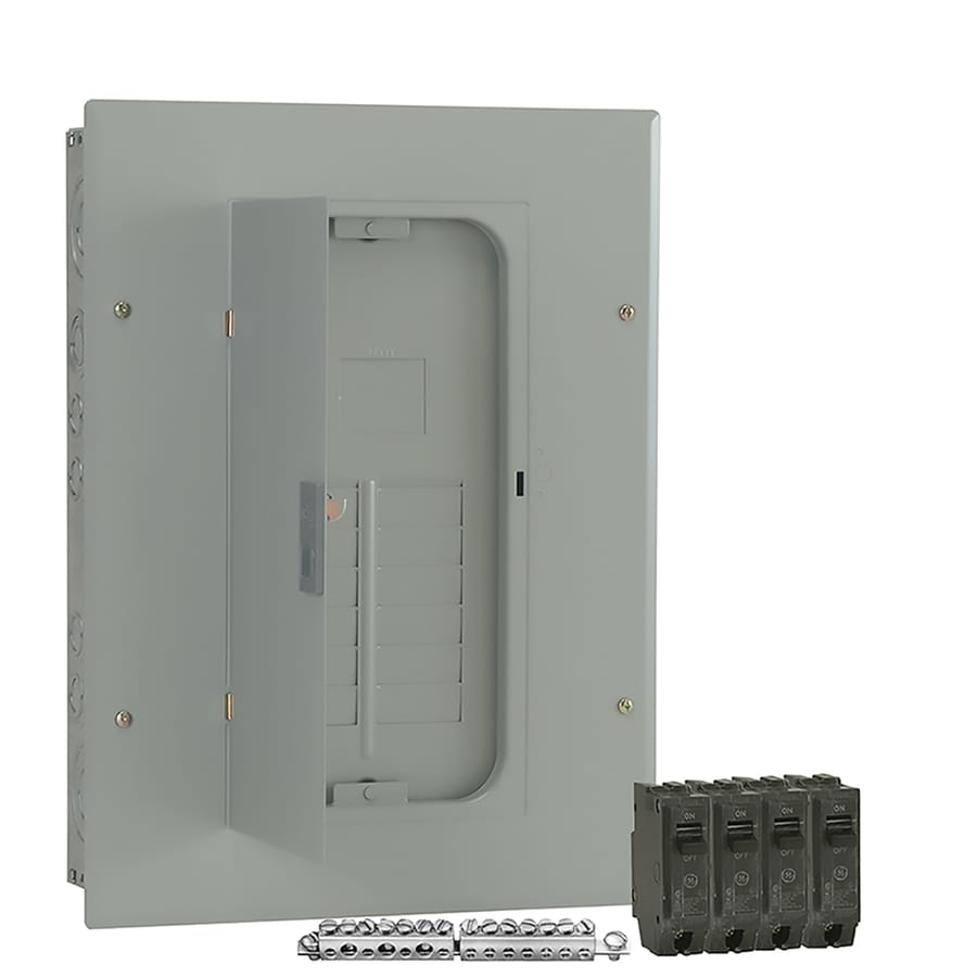 Shop Ge 12 Circuit 22 Space 100 Amp Main Breaker Load Center Value Wiring Into Panel Box