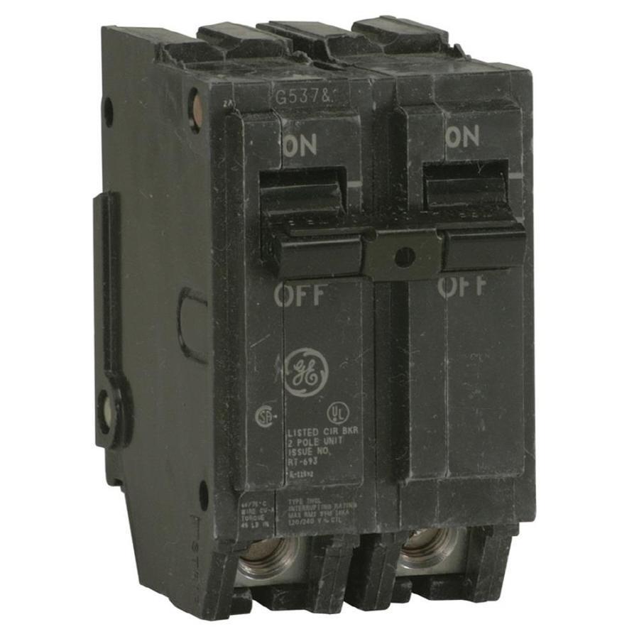 GE Q-Line THQL 125-Amp 2-Pole Circuit Breaker