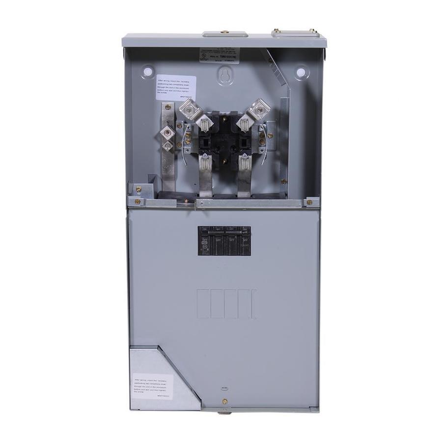 GE 150 Amp Ringless Single Phase (120/240) Meter Socket