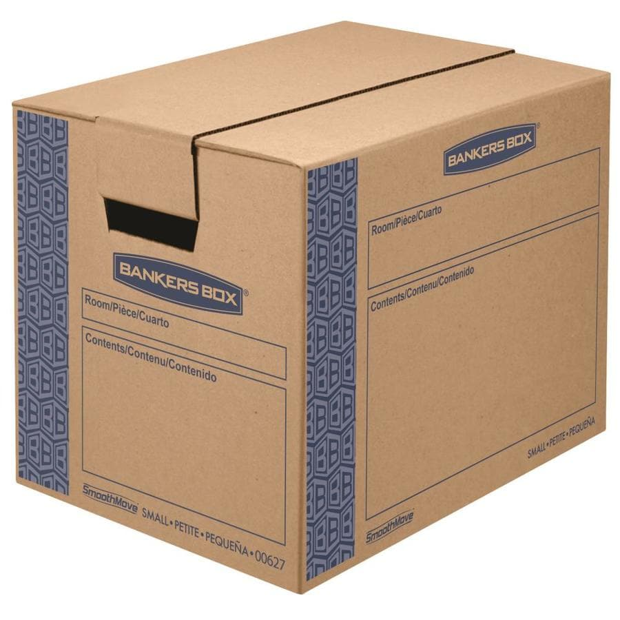 BANKERS BOX 10-Pack Small Cardboard Moving Box Kit (Actual 12.38-in x 12.63-in)