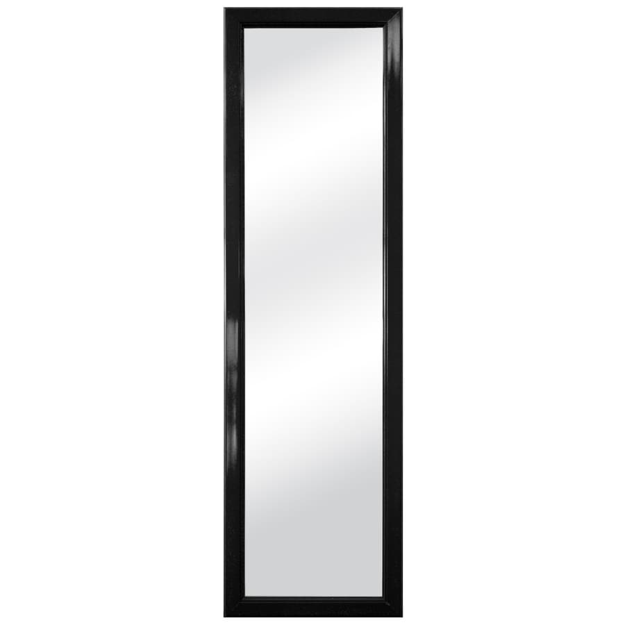 Style Selections Black Polished Wall Mirror