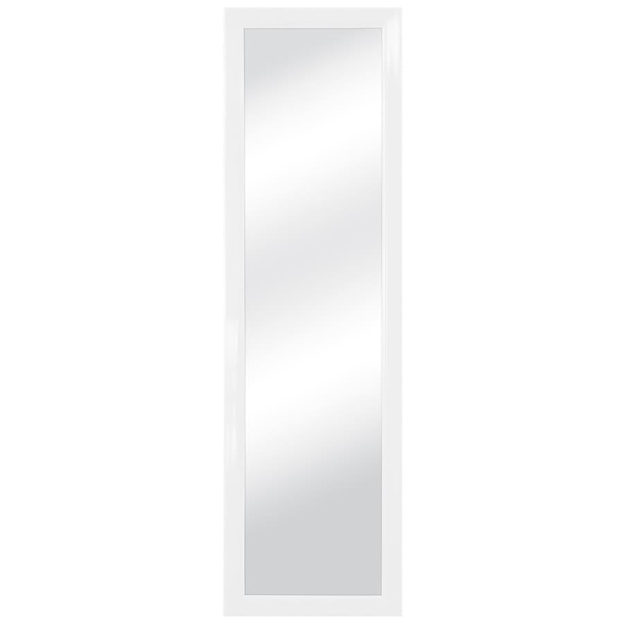Style Selections White Polished Wall Mirror