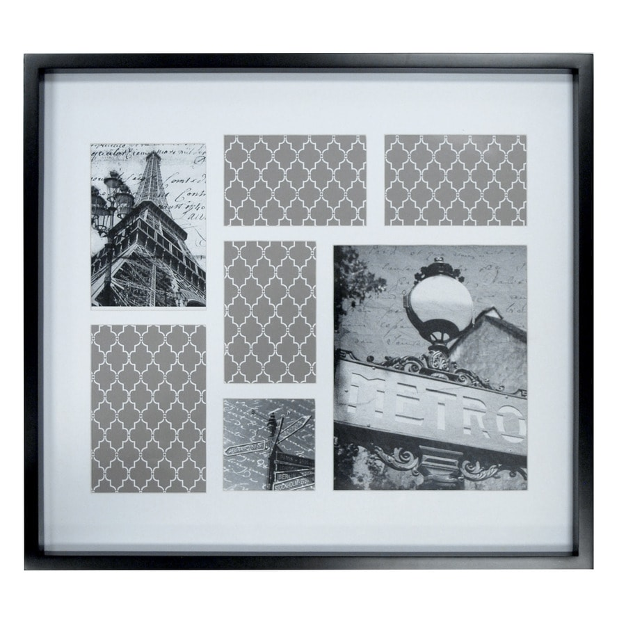 Black Picture Frame Common 18 In X 24 In Actual 22 In X 20 In