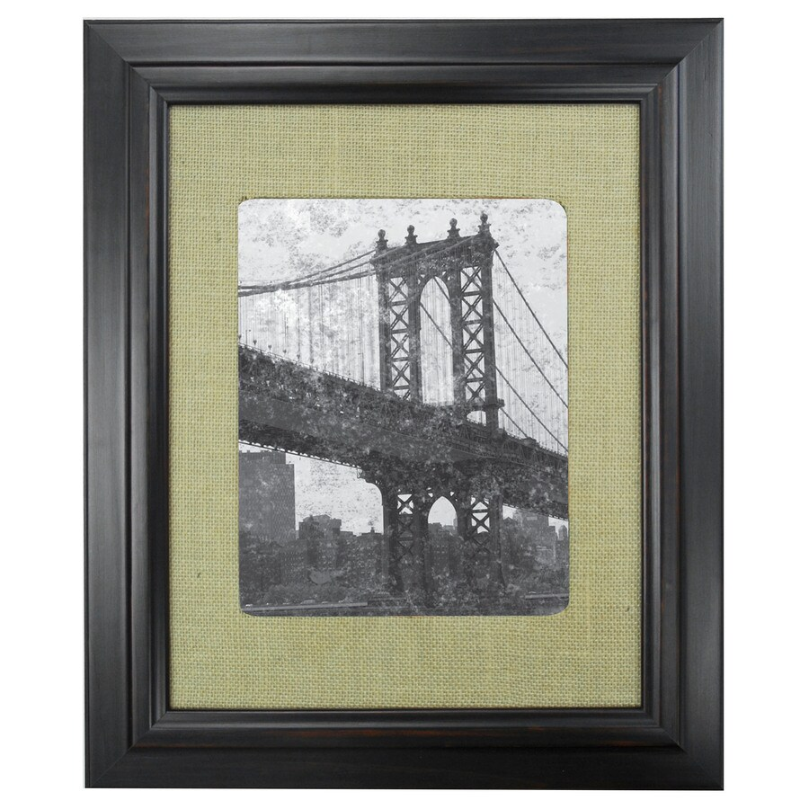 Espresso Picture Frame Common 11 In X 14 In Actual 15 In X 18 In