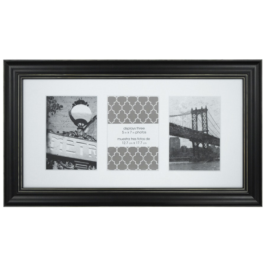 black picture frame common 11 in x 17 in actual x at. Black Bedroom Furniture Sets. Home Design Ideas