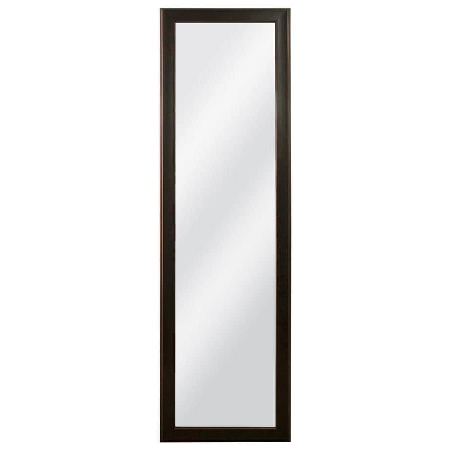 Shop bronze polished wall mirror at for Bronze mirror