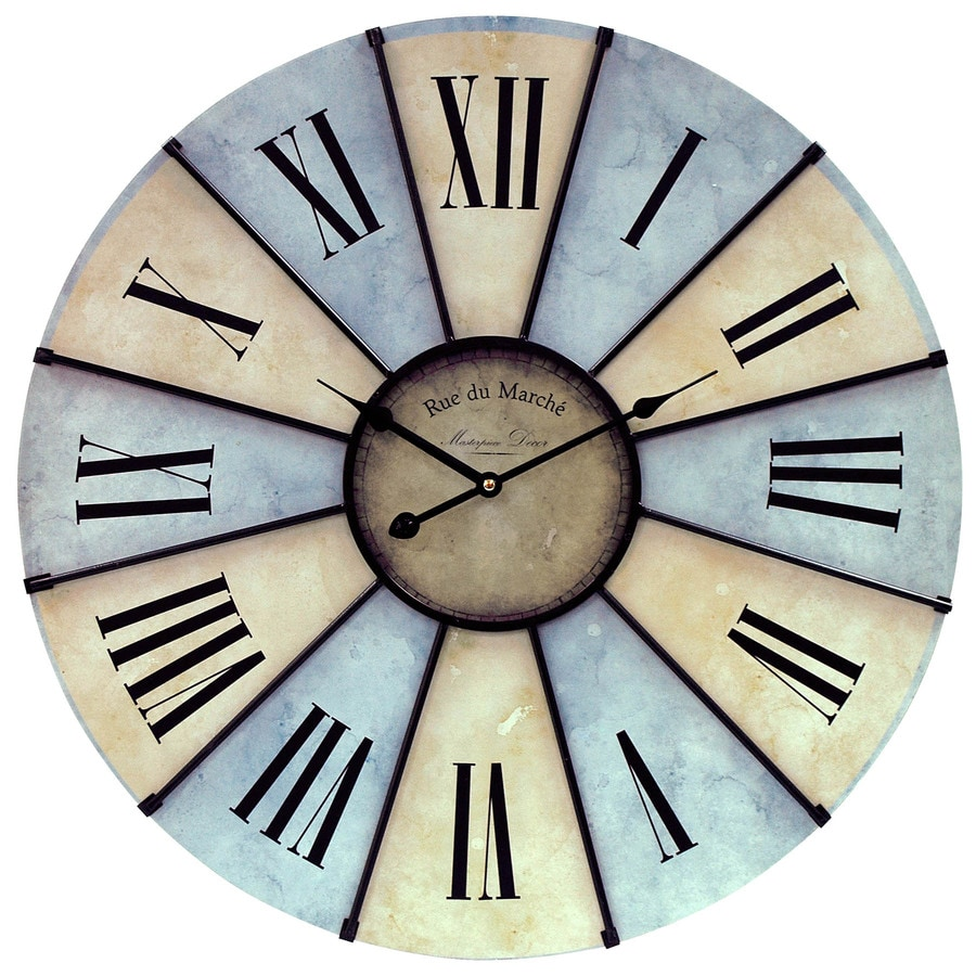 MCS Industries Round Indoor Clock
