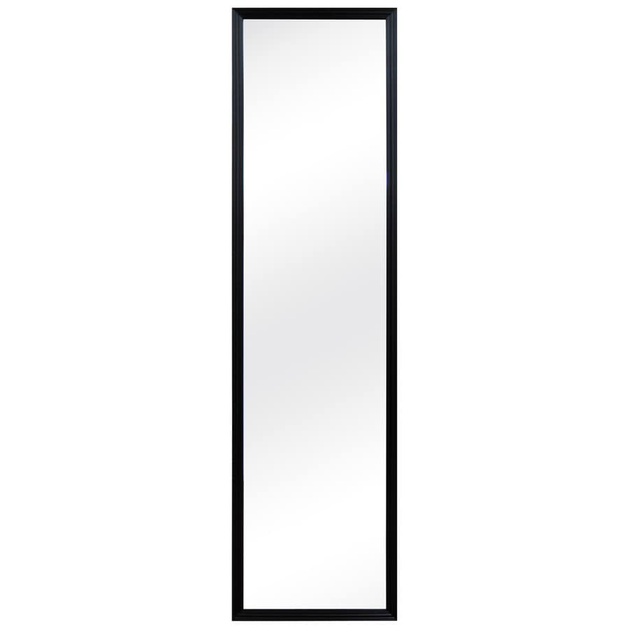 MCS Industries Black Rectangle Framed Wall Mirror