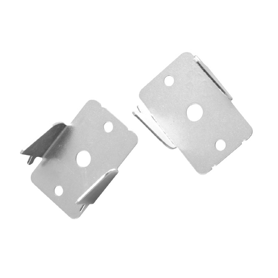 Double curtain rod brackets - Project Source 2 Pack Double Curtain Rod Brackets