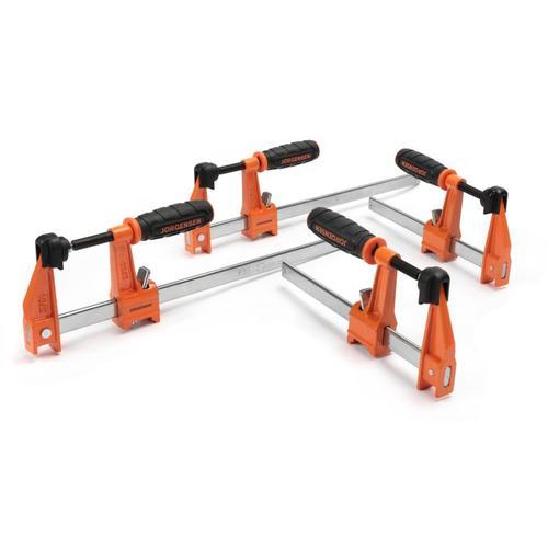 4-Pack Jorgensen Assorted 3700 Series Bar Clamp