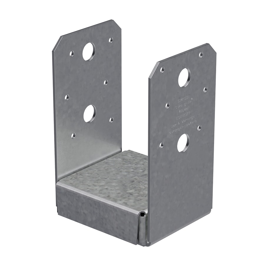 Simpson Strong Tie Steel G185 Post Base Common 4 In