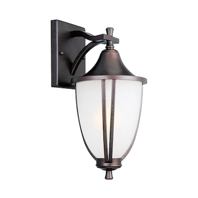 Light Brushed Bronze Wall Sconce
