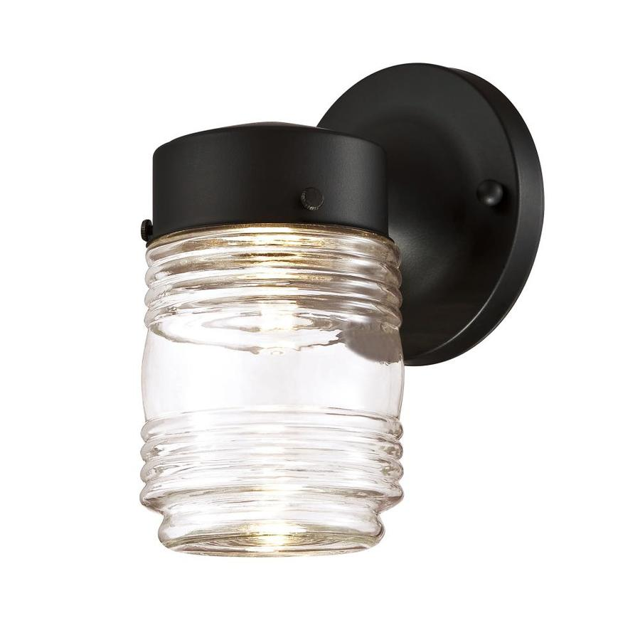 Design House Jelly Jar 7 38 In H Black