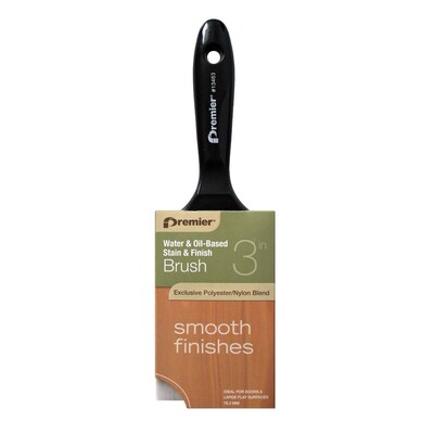 Stain Brush Polyester Flat 3 In Paint Brush
