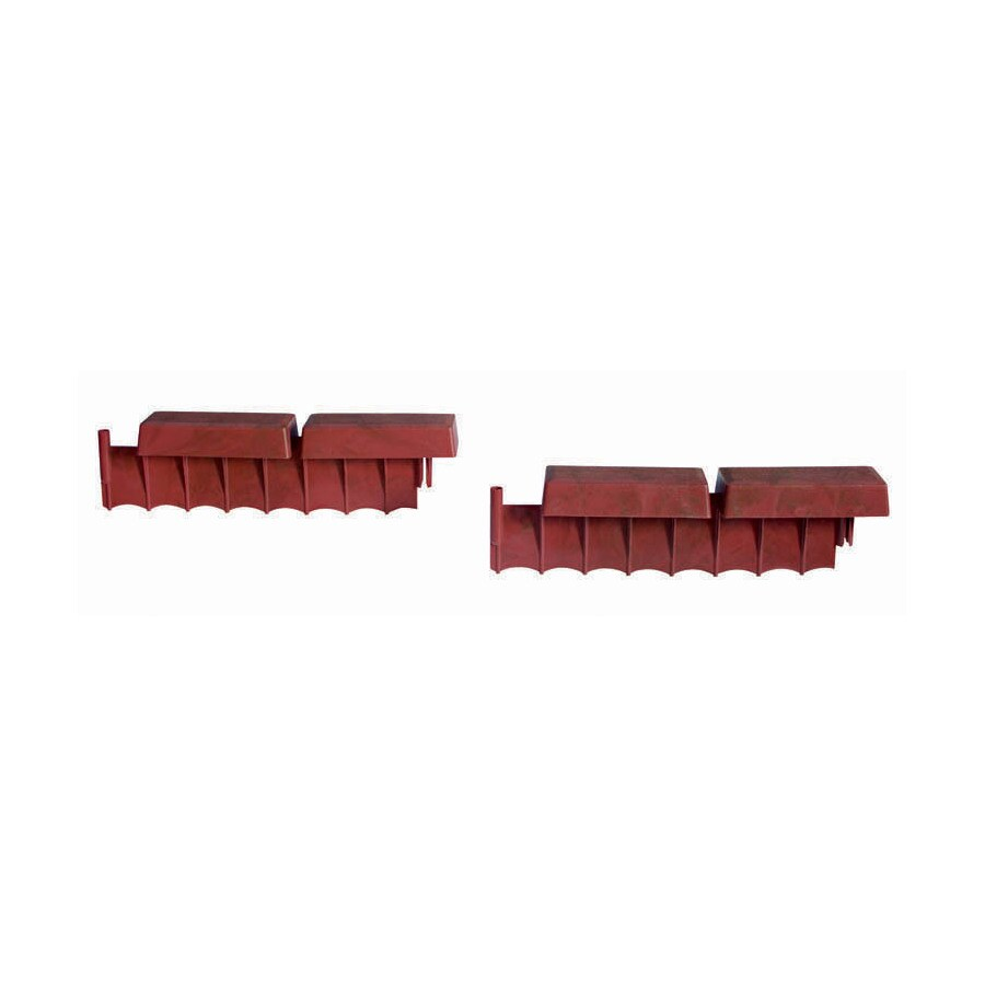 Suncast 7-Pack 1.55-ft Red/Brick Landscape Edging Sections