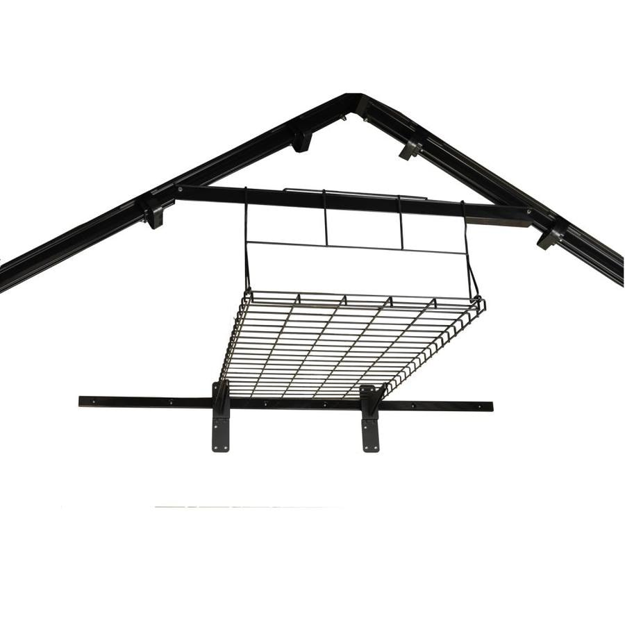 Suncast Black Powder-Coated Metal Storage Shed Shelf