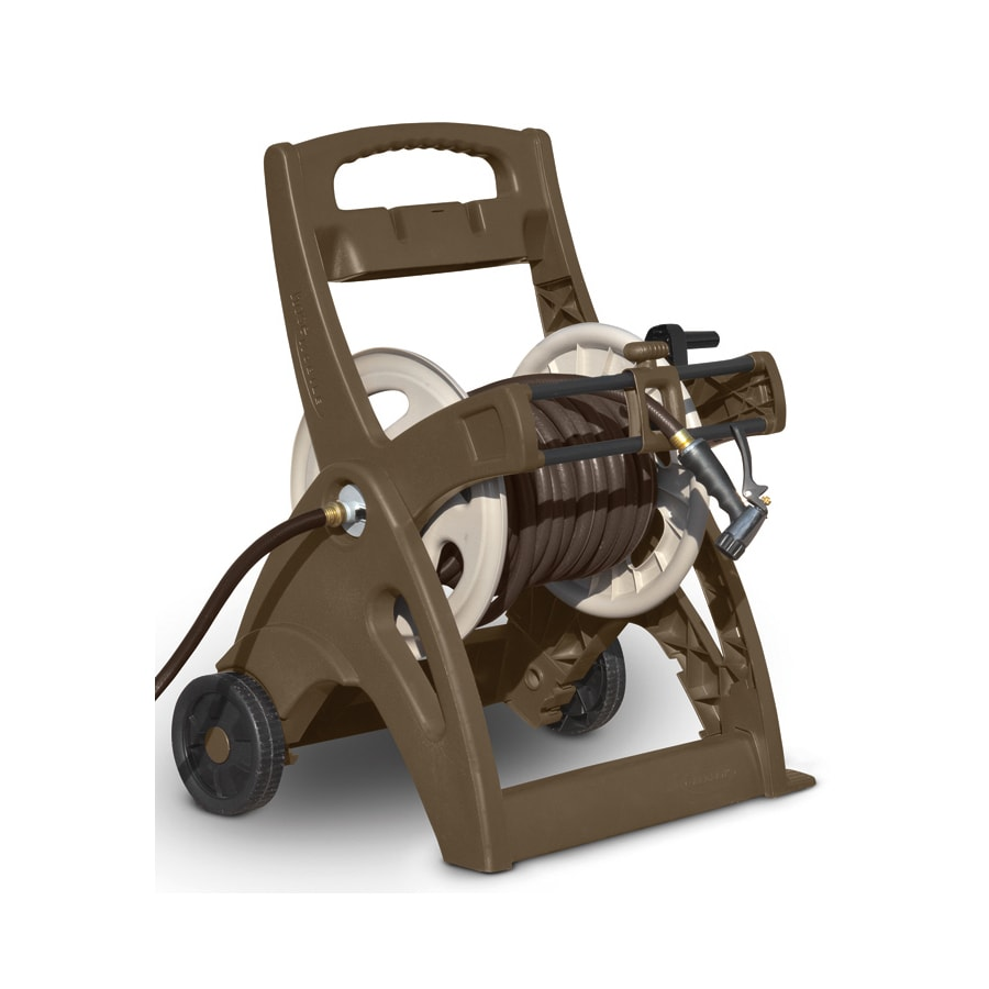 Shop Suncast 225\' Hose Reel Cart with Metal In and Out Tube at Lowes.com