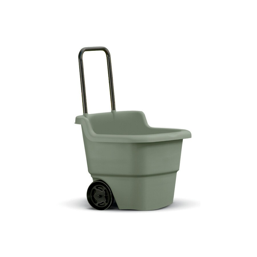Suncast 3-cu ft Resin Yard Cart